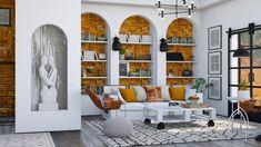 Roomstyler.com - OW Living Bookcase, Shelves, Living Room, Design, Home Decor, Shelving, Decoration Home, Room Decor