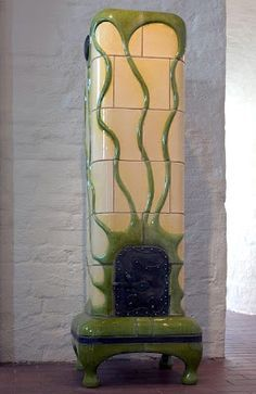 antique kachelofen jugendstil - Google Search