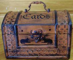 Primitive Tarot Cards Box