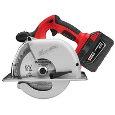 "M28™ Cordless LITHIUM-ION 6-7/8"" Metal Cutting Saw Kit | Milwaukee Tool"