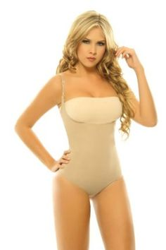 63fe3d4461cbe Faja Mujer Moldeadora Body with adjustable straps. Lifts the bust line.  Panty type.