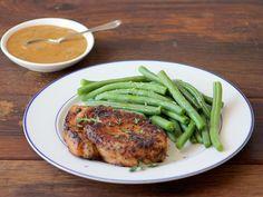 Garlic+Cream+Chops Dinner Box, Steak, Garlic, Dishes, Recipes, Food, Plate, Rezepte, Essen
