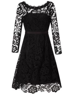 Designer Clothes, Shoes & Bags for Women Lace Dress Black, White Lace, Prom Dresses With Sleeves, Formal Dresses, Fashion Forecasting, Cocktail Dress Prom, Free Clothes, Kids Outfits, Monsoon