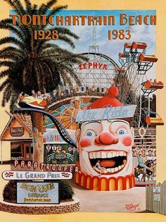 Pontchartrain Beach Retro Flashback! - Theme Park Review