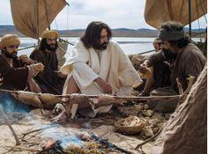Jezus en Petrus