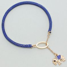 207983 / Blue Elephant Bracelet