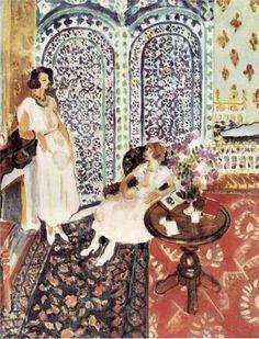 Moorish Screen, 1921  Henri Matisse