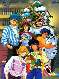 Yoroiden Samurai troopers / Ronin Warriors / Christmas time