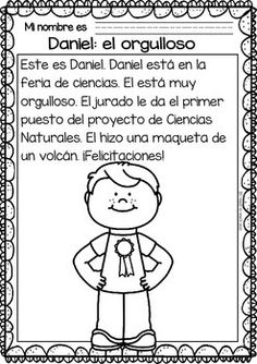 Easy-Reading-for-Reading-Comprehension-in-Spanish-spec-edit-Emotions-2121024 Teaching Resources - TeachersPayTeachers.com