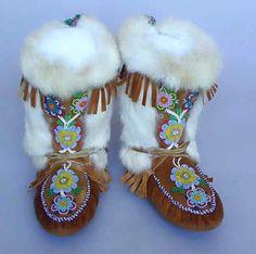 Bottes amérindiennes