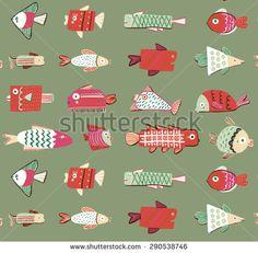 """Képtalálat a következőre: """"fish pattern"""""""