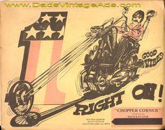 1972 Vintage Chopper Parts Catalog