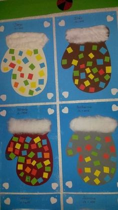 Winter Crafts for Kids Preschool Christmas Crafts, Kindergarten Crafts, Daycare Crafts, Xmas Crafts, Preschool Crafts, Preschool Winter, Preschool Ideas, Winter Art Projects, Winter Crafts For Kids