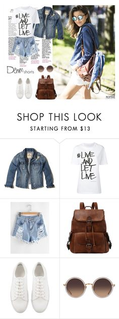 """Contest (romwe)! - Win 30$ coupon!"" by nicoleaurelia ❤ liked on Polyvore featuring Hollister Co., Neil Barrett and Linda Farrow"