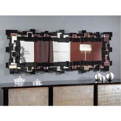Espejo Cristal Moderno Egeo #Ambar #Muebles #Deco #Interiorismo #Espejos