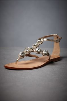 Bridesmaids sandals for me with long dress!!