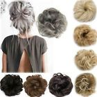 Curly Messy Bun Hair Piece Scrunchie Updo Cover Hair Extensions Real as human UK Curly Hair Pieces, Messy Curly Hair, Bun Hair Piece, Curly Hair Styles, Natural Hair Styles, Long Curly, Tousled Hair, Real Hair Extensions, Ponytail Hair Extensions