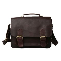 Genda 2Archer Crocodile Embossed Business Satchel Briefcase Tablet iPad Bag