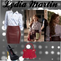Lydia Martin by bellaoelegant-shimmer on polyvore- fav Lydia outfit ever!