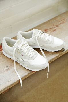 Reebok X UO Classic Nylon Sneaker....I need to find these! I'm all about comfort during the day being a mama.