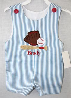 291827  Baby Baseball Outfit  Baby Baseball Onesie  by ZuliKids, $29.50