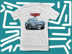 cars fin mcmissile a 100 pre shrunk cotton branded by starwayshop, $15.50