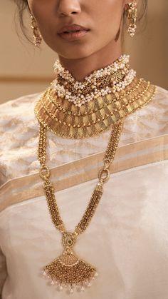 Modern gold jewellery in contemporary bridal style  Goldjewellery  luxury   style  GoldJewellerySimple Gold 2de055ea8d64