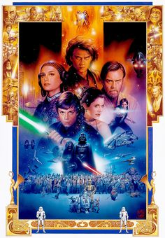 ANNIVERSARY | STAR WARS ORIGINAL ART | SANDAWORLD.COM | The Art of TSUNEO SANDA