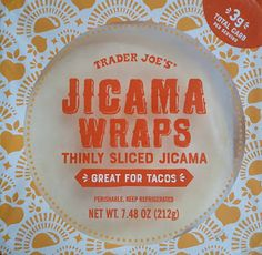 What's Good at Trader Joe's?: Trader Joe's Jicama Wraps Trader Joes Food, Trader Joe's, Carb Alternatives, Lettuce Wraps, Good Ol, Pie Dish, Stuff To Do, Yard Ideas, Veggies