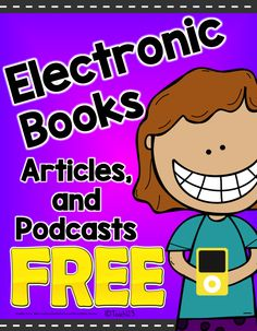 FREE Electronic books, articles, and podcasts.  Bookmark these sites - they are great!