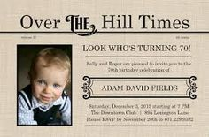 Image Result For 70th Birthday Party Invitations Cheap Free Invitation Templates