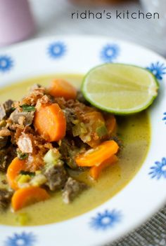 Indonesian style beef soup  - Empal Gentong Cirebon