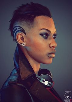 :: Blade's Daughter by Jamie-Lee Lloyd (work in progress) : from Contents of Maggie Stiefvater's Brain tumblr ::