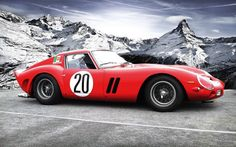 This Rare #Ferrari 250 GTO deserves to be carved in stone for eternity. Click the image to find out more... #classiccar