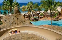 Best Family Fun: Aulani-A Disney Resort & Spa, Oahu, Hawaii.  From 20 best hotel pools in the world 2013 by Fodor's Travel