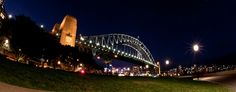 Sydney Harbour Bridge at Night - Syndey, Australia Cairns, Sydney Harbour Bridge, East Coast, Travel Pictures, All About Time, Have Fun, Australia, Spaces, Explore