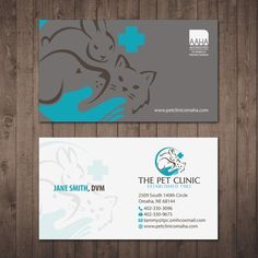 Business cards for veterinary clinics and veterinary students vet wanted creative cool fun impactful business card for our veterinary hospital colourmoves