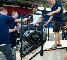 Parathletes compete against each other with state-of-the-art technology at the Cybathlon. There are six disciplines for motorized wheelchairs, arm and leg prostheses and exoskeletons, among others. The aim is to complete an obstacle course as correctly as possible. The time required is secondary. #withmaxon
