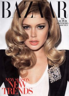 Those curls are to die for! And my favorite model is oh-so gorgeous on this cover!