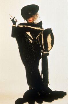 """Glenn Close as Cruella de Vil in """"101 Dalmatians"""" looking absolutely fabulous. Description from pinterest.com. I searched for this on bing.com/images"""