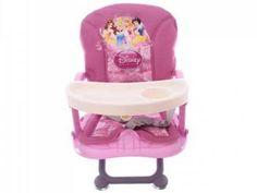 Cadeira de Papinha Dican Disney Princesas - 3 Níveis de Altura Regulável p/Crianças até 15kg com as melhores condições você encontra no Magazine Shopspremium. Confira!