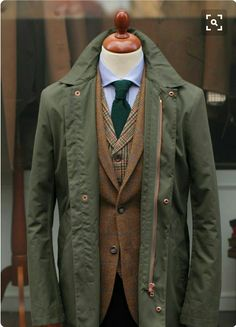 British Style — Thanks to Tweed Country Sports. Gentleman Mode, Gentleman Style, Dapper Gentleman, Sharp Dressed Man, Well Dressed Men, Mode Masculine, Masculine Style, Herren Outfit, Suit And Tie