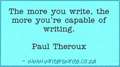 Quotable - Paul Theroux
