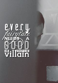 Yes. And in fairy tales they always lose and always have happy endings <3
