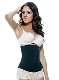 c70c9d8fccc Vedette Valerie Latex Waist Cincher Girdle Colors  Black or Nude Style No.  103 Vedette Valerie firm compression body shaper that helps to slim your  waist ...