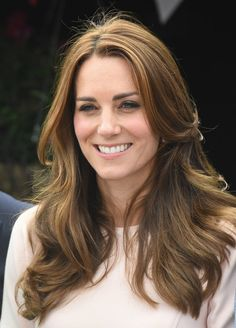 The overall look is still the same, but there have been a few subtle changes. The color of Kate's hair is more accented and a lot lighter, while she's also wearing it shorter and more shaped, which has taken away some of the bulk but none of the volume. It's still tonged but in a different way, often with bigger, more '70s-style glamour waves. For the past five years, Kate has relied on the services of Amanda Cook Tucker, who has been cutting William's and Harry's hair most of their lives.