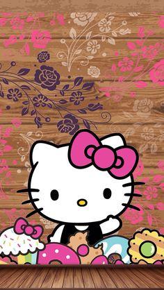 Reeseybelleo Kitty Iphone Wallpapero Kitty Backgrounds Sanrio Wallpaper Kawaii Wallpaper