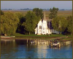 Church on Harsens Island MI, I will be married here one day !!!