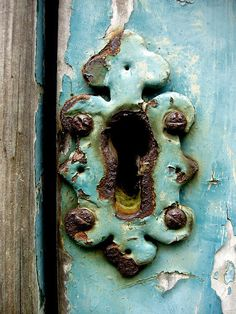 old door lock....