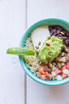 Cafe Gratitude Inspired Mexican Bowl (Vegan and Gluten-Free)